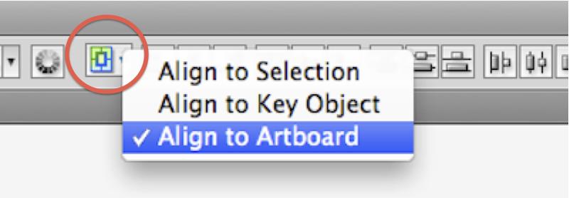 Align-to-artboard